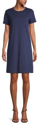 Pure Navy Pocket Tee Dress