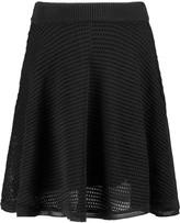 MAISON KITSUNÉ Open-knit mini skirt