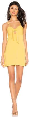 superdown Rikkie Tie Front Dress