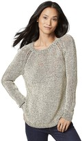 Tommy Hilfiger Final Sale- Drapey Crewneck Sweater