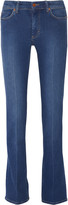 MiH Jeans London mid-rise straight-leg jeans