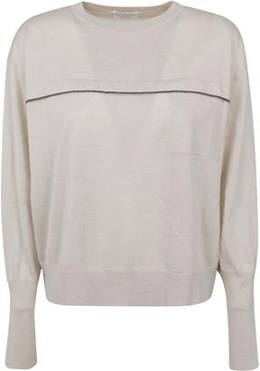 Brunello Cucinelli Centre Embellished Sweater