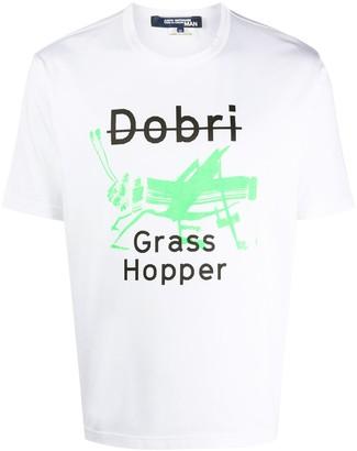 Junya Watanabe grasshopper print T-shirt