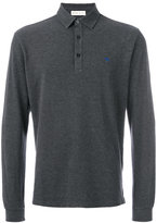 Etro longsleeved polo shirt