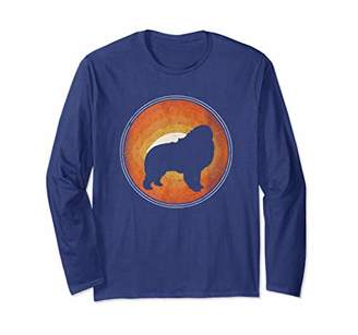 Breed Graphic 365 Dog Great Pyrenees Retro Style Long Sleeve T-Shirt