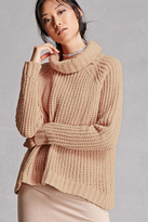 Forever 21 FOREVER 21+ Chunky Cowl Neck Sweater