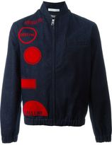 J.W.Anderson orbital print denim jacket