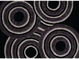 United Weavers Finesse Records Geometric Shag Rug