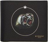 Givenchy Black Monkey Brothers Wallet