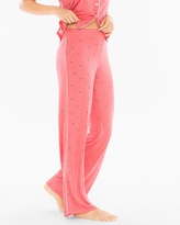 Soma Intimates Contrast Piped Pajama Pants