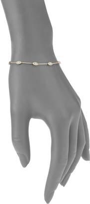 Diana M 14K Yellow Gold & 0.88 TCW Diamond Eye Bracelet