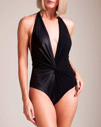 Karla Colletto Isla Plunge Swimsuit