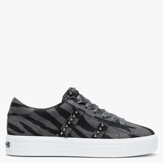 Kennel + Schmenger Up Zoo Suede Studded Trainers