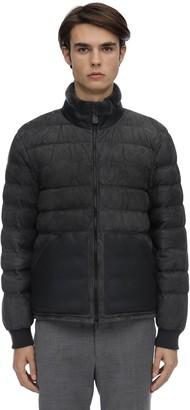 Ermenegildo Zegna Suede & Shearling Leather Jacket