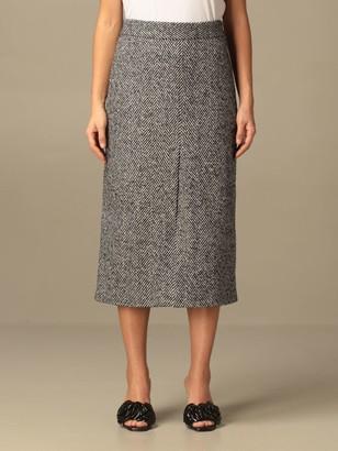 RED Valentino Herringbone Skirt
