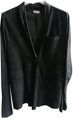 Anne Vest Black Suede Jackets