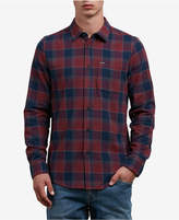 Volcom Men's Yarn Dyed Flannel Shirt