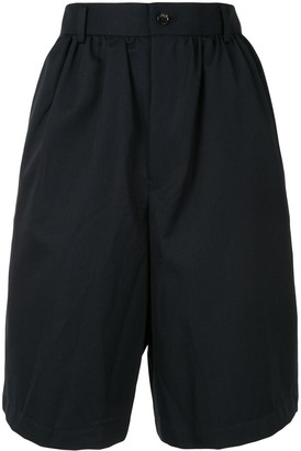 COMME DES GARÇONS GIRL Gathered Waist Knee-Length Shorts
