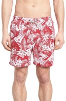 Tommy Bahama Men's Naples Plumeria Paradise Print Swim Trunks