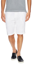 Etro Linen Solid Slant Pocket Shorts