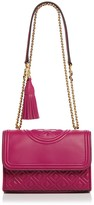 Tory Burch Fleming Convertible Small Leather Shoulder Bag