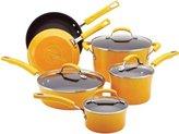 Rachael Ray 10-pc. Nonstick Porcelain Enamel II Cookware Set, Yellow Gradient