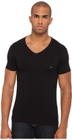 Emporio Armani Stretch Cotton V-Neck Tee Men's Underwear