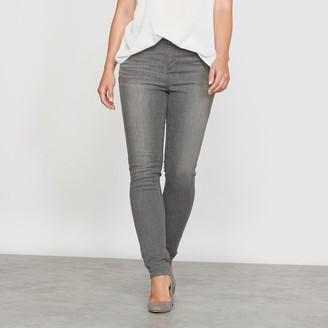 """La Redoute Collections Plus Slim Fit Denim Jeans, Length 30.5"""""""
