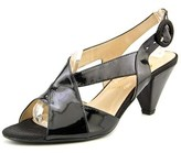 J. Renee Ditte Women Peep-toe Synthetic Black Slingback Heel.