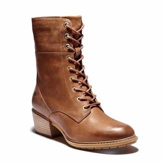 Timberland Women's Sutherlin Bay Side Zip Boot Medium Brown 10