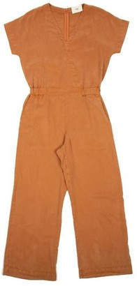 Folk Wrap Jumpsuit Dusty Teak - 1 / XS / 28