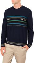 Paul Smith Stripe Panel Knitwear