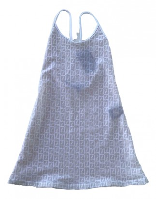 Fendi Beige Polyester Dresses