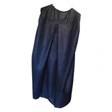 Saint Laurent Grey Wool Dress