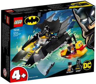Lego Super Heroes Batboat The Penguin Pursuit!