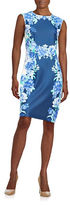 Chetta B Floral Sheath Dress