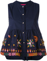 Amuse - Muguet buttoned blouse - women - Cotton/Polyester - L