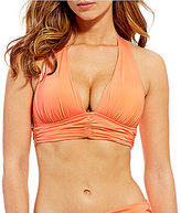 Gibson & Latimer Solid Wide Band Halter Top
