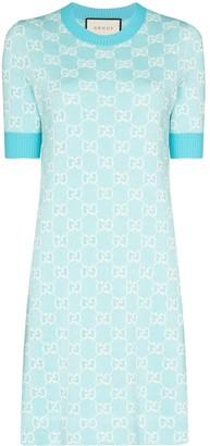 Gucci GG Supreme jacquard mini dress