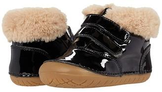 Old Soles Bear Pave (Infant/Toddler) (Black Patent) Boy's Shoes