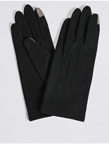 M&S Collection Touchscreen Jersey Gloves
