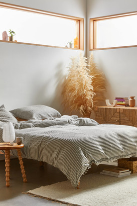 Urban Outfitters Derby Textured Jersey Duvet Cover