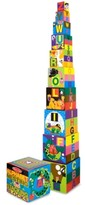 Melissa & Doug Alphabet Nesting and Stacking Blocks