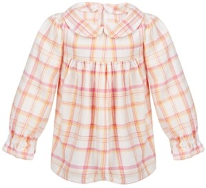 First Impressions Toddler Girls Plaid Top, Created for Macy's