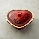 Le Creuset Stoneware Heart-Shaped Covered Casserole