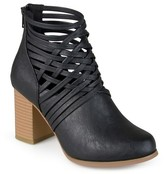 Journee Collection Women's Alicia Round Toe Strappy Booties
