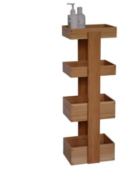Thumbnail for your product : Wireworks Bamboo Arena 4 Tray Bathroom Caddy