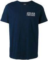 A.P.C. Atelier De Production T-shirt - men - Cotton - S