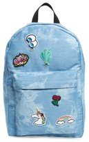 Girl's Accessory Collective Tie Dye Backpack - Blue