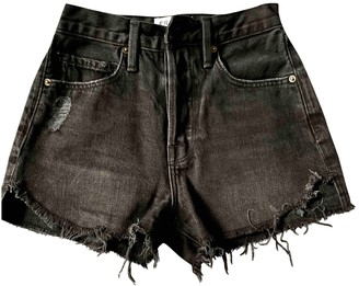 Frame Black Denim - Jeans Shorts for Women